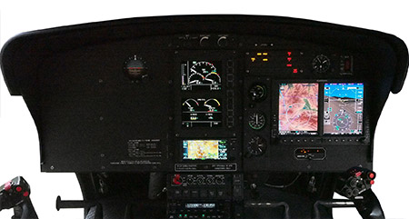 AIRBUS HELICOPTERS AS350B3(H125) cockpit