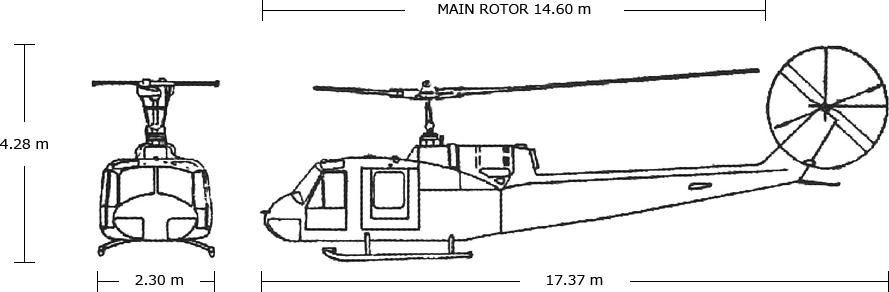 FUJI-BELL 204B-2 Body Size