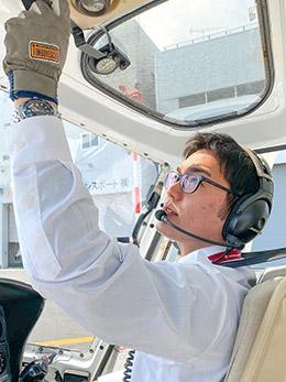 パイロット 上坂龍太郎